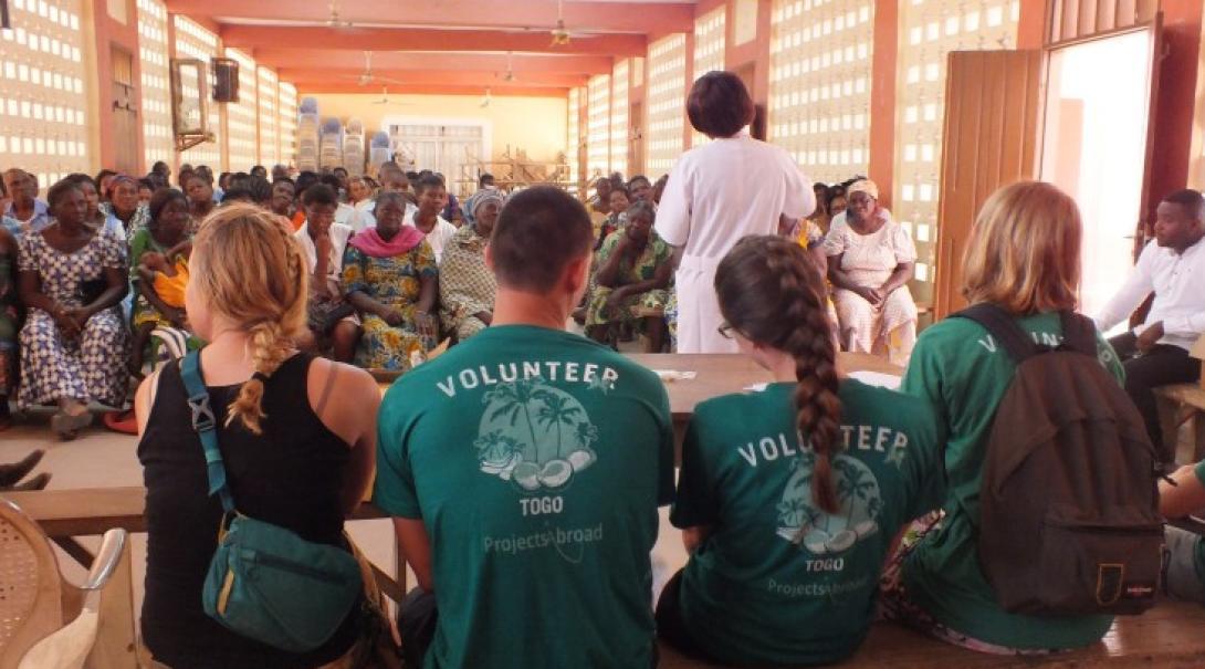 Bénévole sur des campagnes éducatives